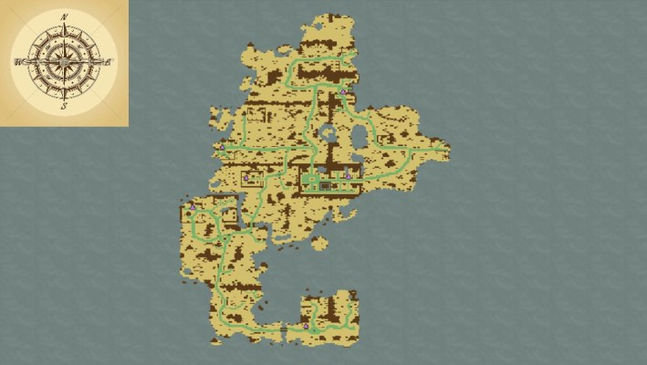 Нуб - начальный остров