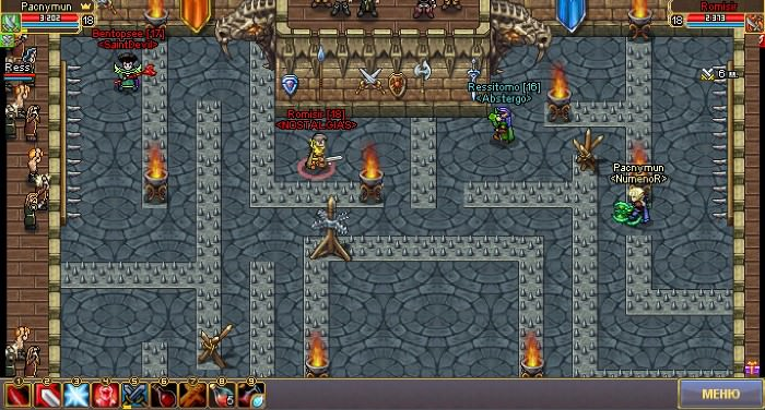 Бой на арене в формате 2 × 2 для игроков 18 - 20 lvl.
