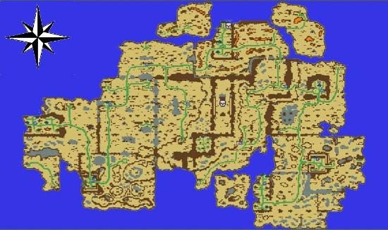 Карта о-ва Ирсельнорт.